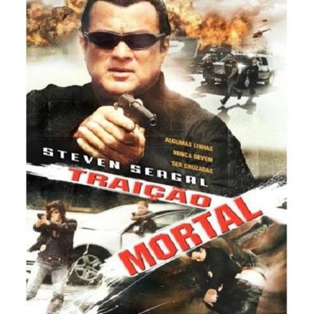 Dvd Traição Mortal - Steven Seagal