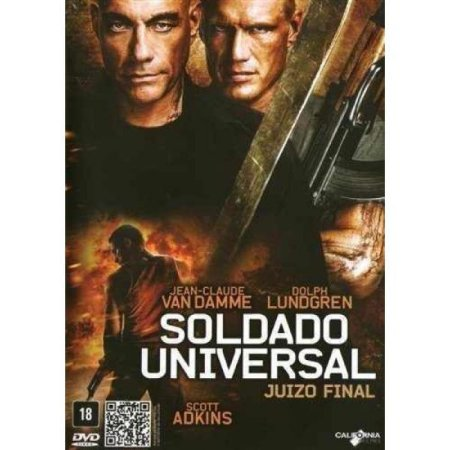 DVD SOLDADO UNIVERSAL - JUÍZO FINAL - JEAN CLAUDE VAN DAMME