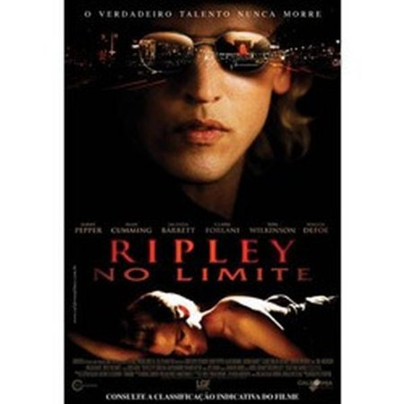 DVD RIPLEY NO LIMITE - BARRY PEPPER