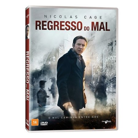 DVD REGRESSO DO MAL - NICOLAS CAGE