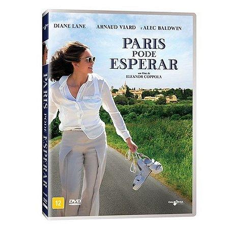 DVD PARIS PODE ESPERAR - DIANE LANE, ALEC BALDWIN