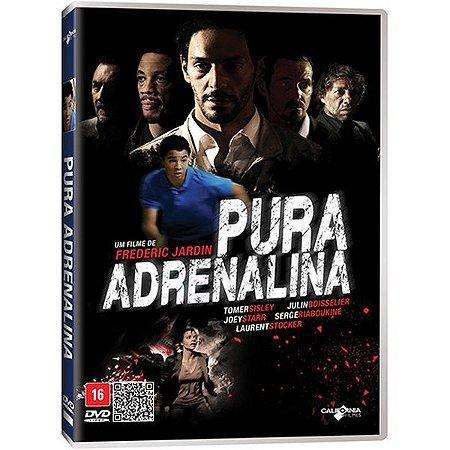 DVD - PURA ADRENALINA - TOMER SISLEY