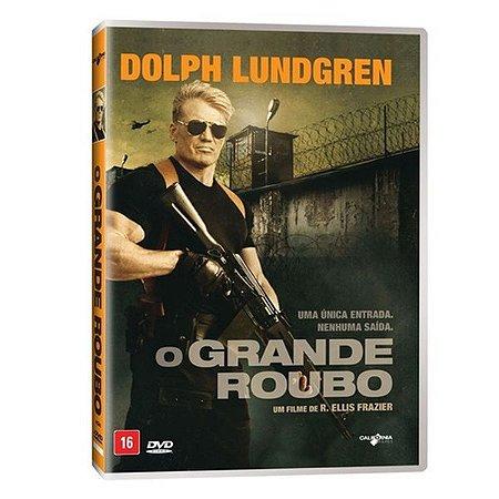 DVD O GRANDE ROUBO  - DOLPH LUNDGREN
