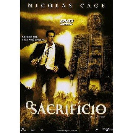 DVD O SACRIFICIO - NICOLAS CAGE