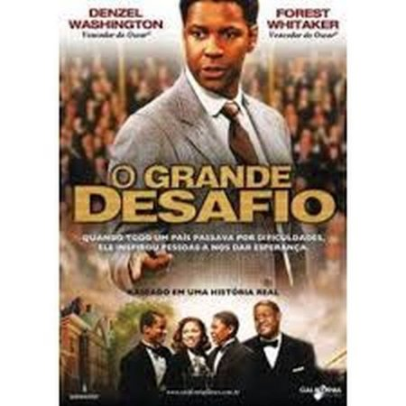 DVD O GRANDE DESAFIO  - DENZEL WASHINGTON