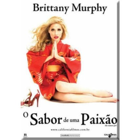 DVD O SABOR DE UMA PAIXÃO - BRITTANY MURPHY