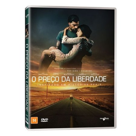 DVD O PREÇO DA LIBERDADE - JOEL SMALLBONE