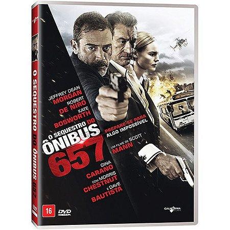 DVD O SEQUESTRO DO ÔNIBUS 657 - ROBERT DE NIRO