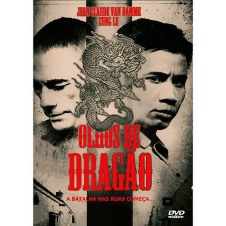 DVD OLHOS DE DRAGÃO - JEAN CLAUDE VAN DAMME
