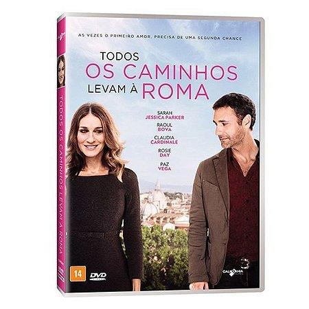 DVD TODOS OS CAMINHOS LEVAM A ROMA - SARAH JESSICA PARKER