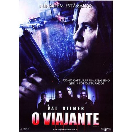 DVD O VIAJANTE - VAL  KILMER