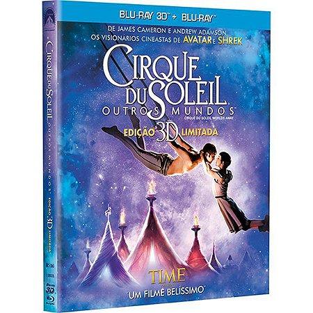 Blu-ray 3D + Blu-ray Cirque du Soleil - Outros Mundos (2 discos)