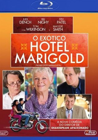 BLU RAY O EXÓTICO HOTEL MARIGOLD - JUDI DENCH