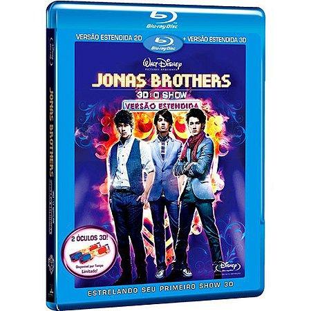 Blu-ray Jonas Brothers: O Show 2D + 3D - Versão Estendida