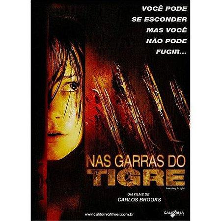DVD NAS GARRAS DO TIGRE - CARLOS BROOKS