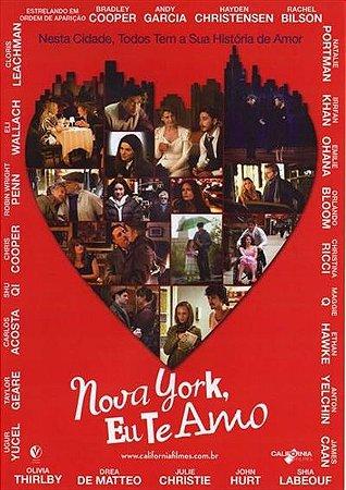 DVD NOVA YORK, EU TE AMO - BRADLEY COOPER