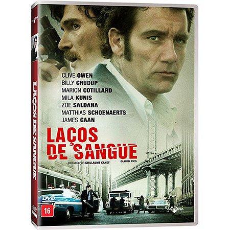 DVD LAÇOS DE SANGUE - CLIVE OWEN