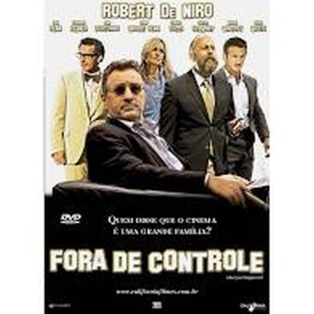 DVD FORA DE CONTROLE - ROBERT DE NIRO - BRUCE  WILLIS
