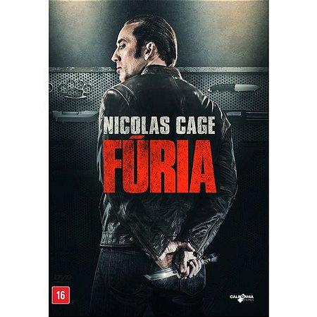 DVD FÚRIA - NICOLAS CAGE