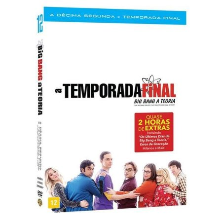 DVD BOX THE BIG BANG THEORY 12ª TEMPORADA - TEMPORADA FINAL