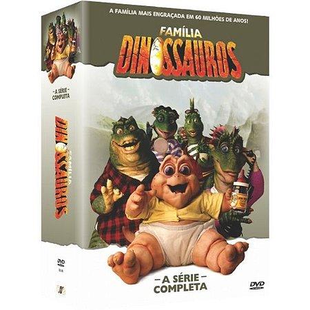 BOX DVD FAMILIA DINOSSAURO -  A SERIE COMPLETA (12 DISCOS)