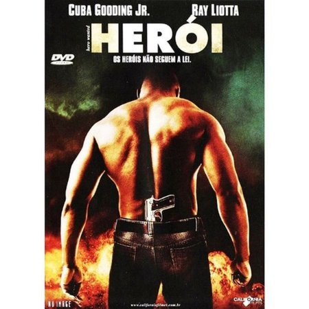 DVD HERÓI - CUBA GOODING JR.