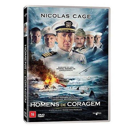 DVD - HOMENS DE CORAGEM - NICOLAS CAGE