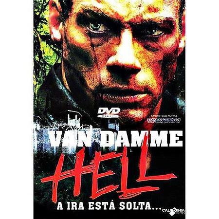 DVD HELL - A IRA ESTÁ SOLTA. - JEAN  CLAUDE VAN DAMME