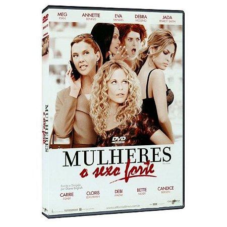 DVD MULHERES O SEXO FORTE - MEG RYAN