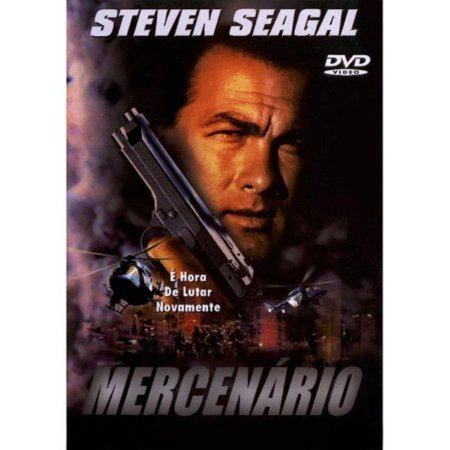 DVD - MERCENÁRIO - STEVEN SEAGAL