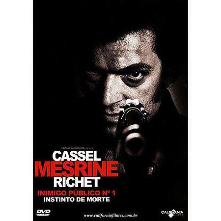 DVD INIMIGO PUBLICO Nº 1 - VICENT CASSEL