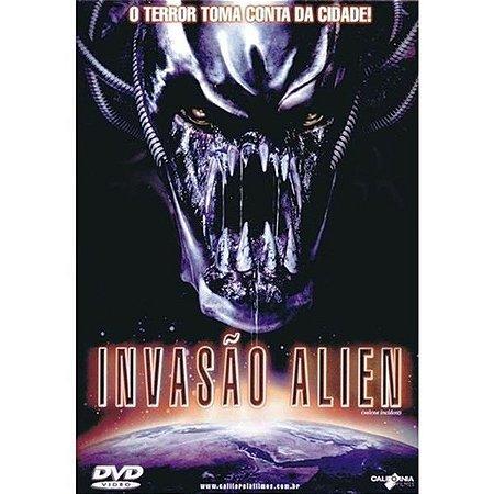 DVD INVASÃO ALIEN - DUSTIN RIKERT
