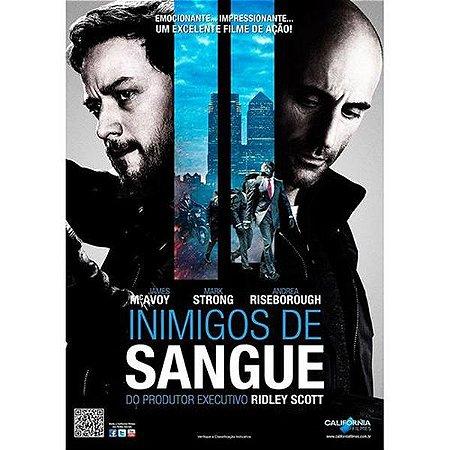DVD INIMIGOS DE SANGUE - JAMES MCAVOY