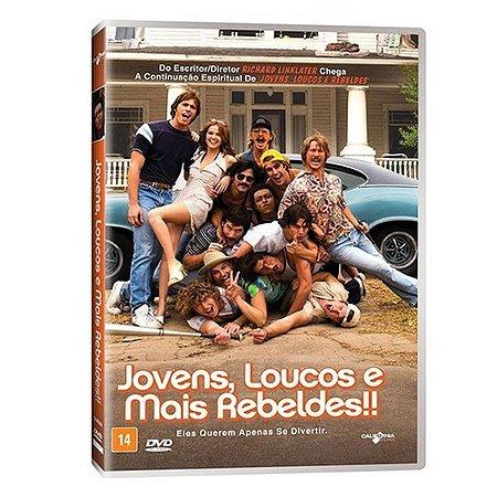 DVD - JOVENS, LOUCOS E MAIS REBELDES - RICHARD LINKLATER