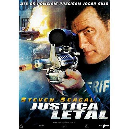 DVD JUSTIÇA LETAL - STEVEN SEAGAL
