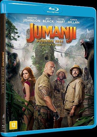 Blu-ray JUMANJI - PROXIMA FASE - DWAYNE JOHNSON