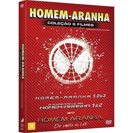 DVD BOX - COLEÇÃO: HOMEM-ARANHA - 6 DISCOS