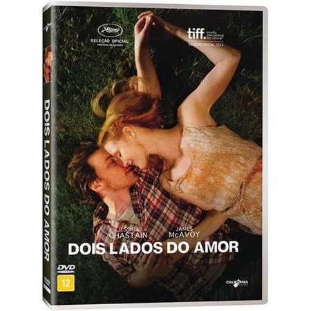 DVD DOIS LADOS  DO AMOR - JAMES MACAVOY