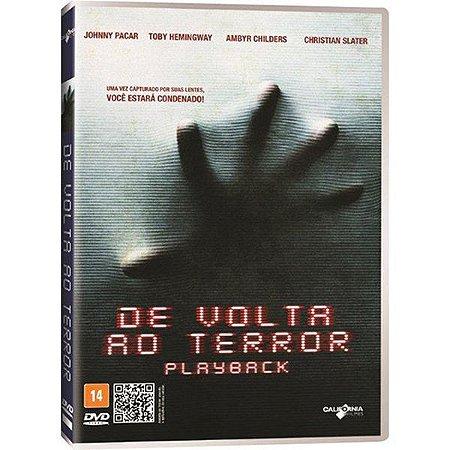 DVD DE VOLTA AO TERROR - JOHNNY PACAR