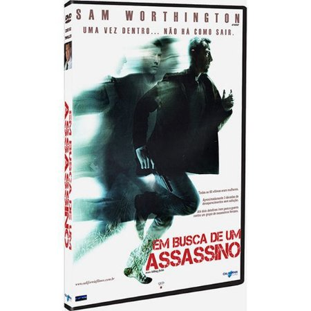 DVD EM BUSCA DO ASSASSINO - SAM WORTHINGTON
