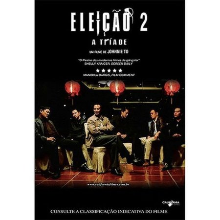 DVD ELEIÇÃO 2 - A TRIADE - JOHNNIE TO