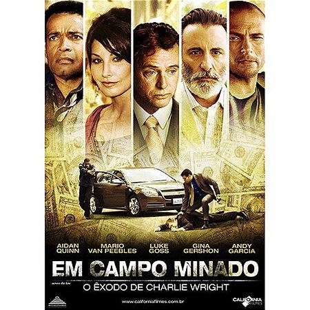DVD EM CAMPO MINADO - ANDY GARCIA