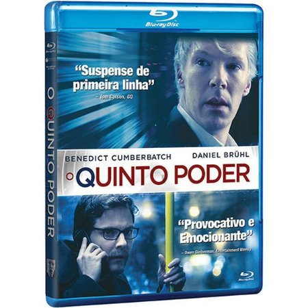 BLU RAY O QUINTO PODER - BENEDICT CUMBERBATCH