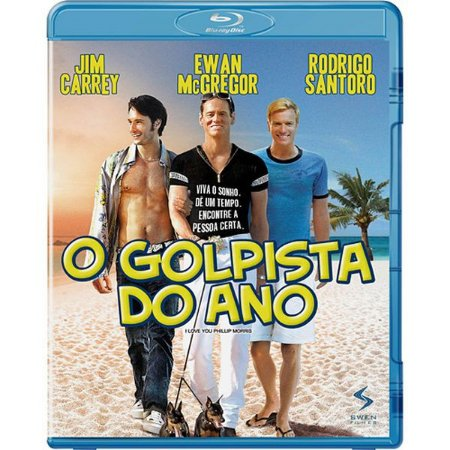 BLU RAY O GOLPISTA DO ANO  - JIM  CARREY