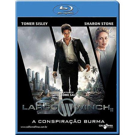 Blu Ray A Conspiração Burma - Sharon Stone