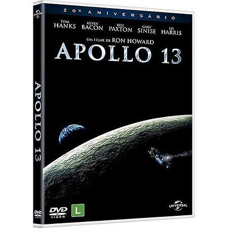 Dvd - APOLLO 13 Ed. 20 ANIVERSARIO