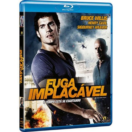 BLU RAY  FUGA IMPLACÁVEL - BRUCE WILLIS