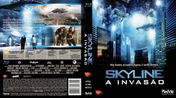 BLU RAY SKYLINE - A INVASAO - ERIC BALFOUR