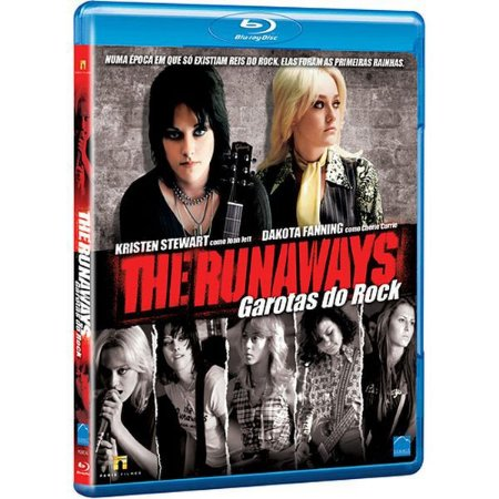 Blu-Ray The Runaways - Garotas Do Rock - Kristen Stewart