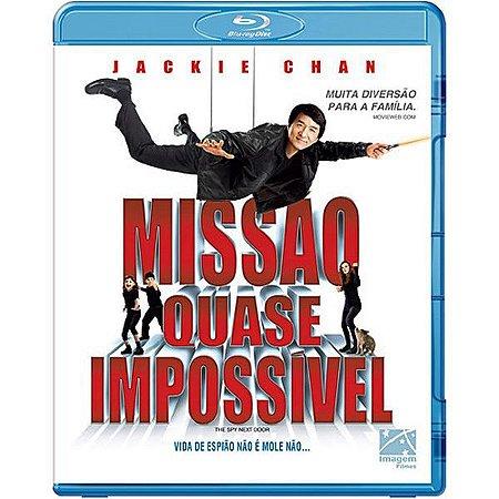 Blu-ray - Missão Quase Impossível - Jackie Chan